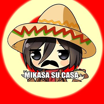 Mikasa Su Casa  by Kitsuneace