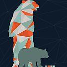 Geo Bear by modernistdesign