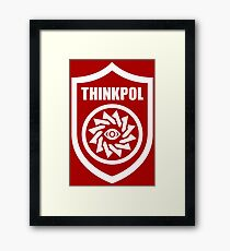 Thought Police - Thinkpol Framed Print