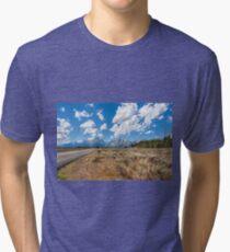 Drive to the Grand Tetons Tri-blend T-Shirt