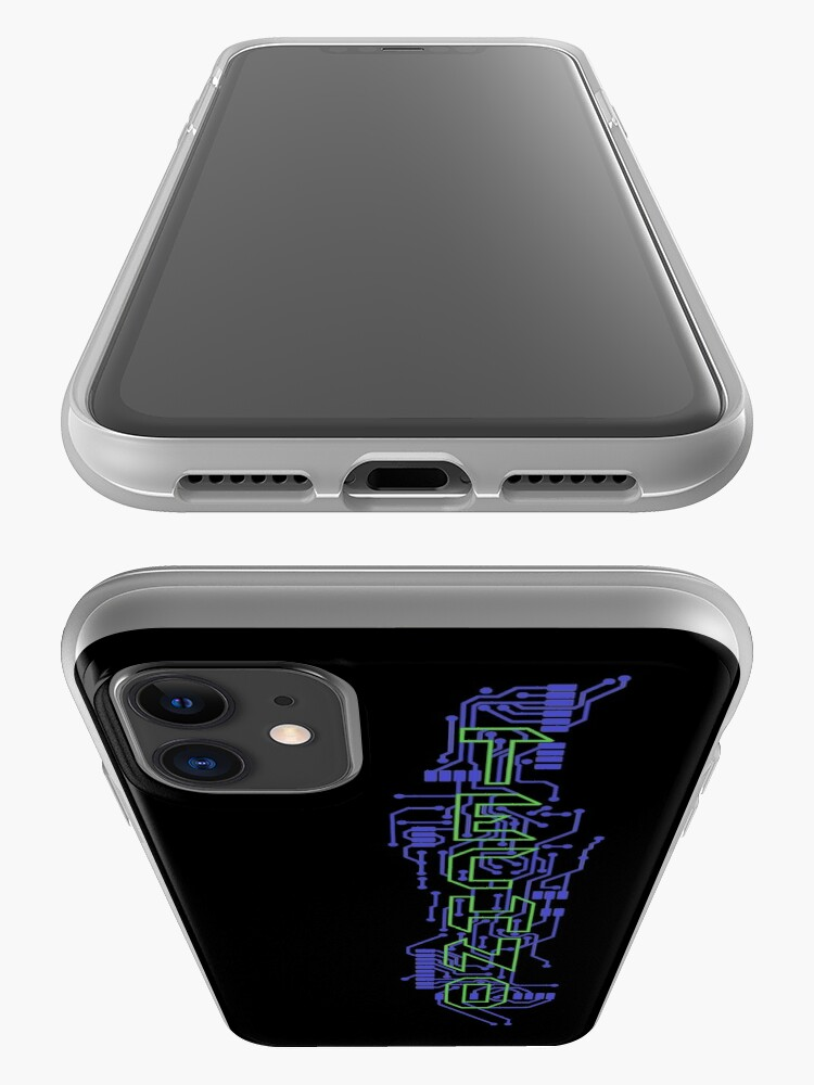 Alternate view of Techno Circuits iPhone Case & Cover