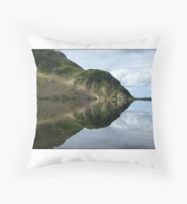 Anglers Crag Throw Pillow