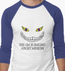 The GM Is Smiling Men's Baseball ¾ T-Shirt