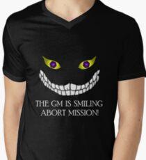 The GM Is Smiling Men's V-Neck T-Shirt
