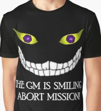 The GM Is Smiling Graphic T-Shirt
