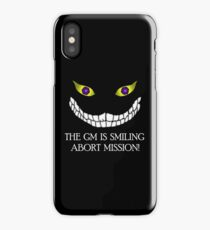 The GM Is Smiling iPhone Case