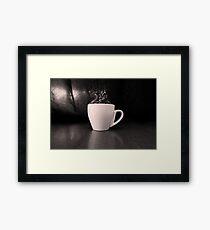 Cup-Full Of Beans Framed Print