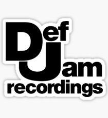 Def Jam Sticker