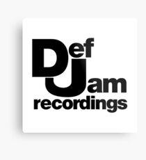 Def Jam Metal Print