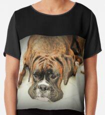 So ist das Leben - Boxer Dogs Series - Boxerin Chiffontop