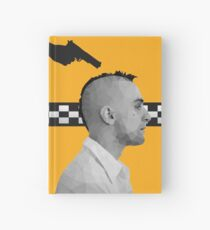 Travis Bickle (Robert De Niro) - Taxi Driver Low Poly Art  Hardcover Journal
