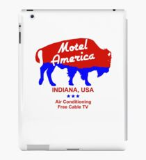 Motel America Indiana,USA iPad Case/Skin