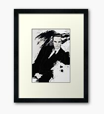 Sherlock BBC (Jim Moriarty) Framed Print