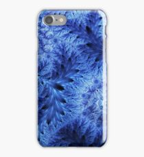Christmas frost fractal ornament iPhone Case/Skin