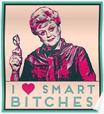 I heart smart b****es like JB Fletcher  Poster