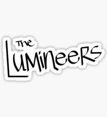 LUMINEERS SIGNATURE Sticker