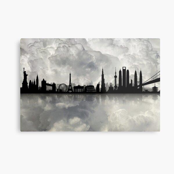 The Best city skyline Metal Print