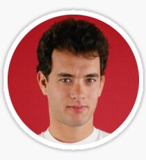 Young Tom Hanks  Sticker