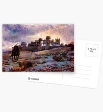 Jon Snow of Winterfell Postcards