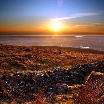 Sunset over St Bees by BulletMa9net