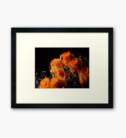 The Broken Rose Framed Print