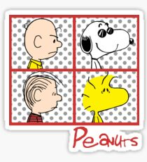 Snoopy Peanuts Album Color Sticker