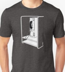 Old School Phone Booth T-Shirt