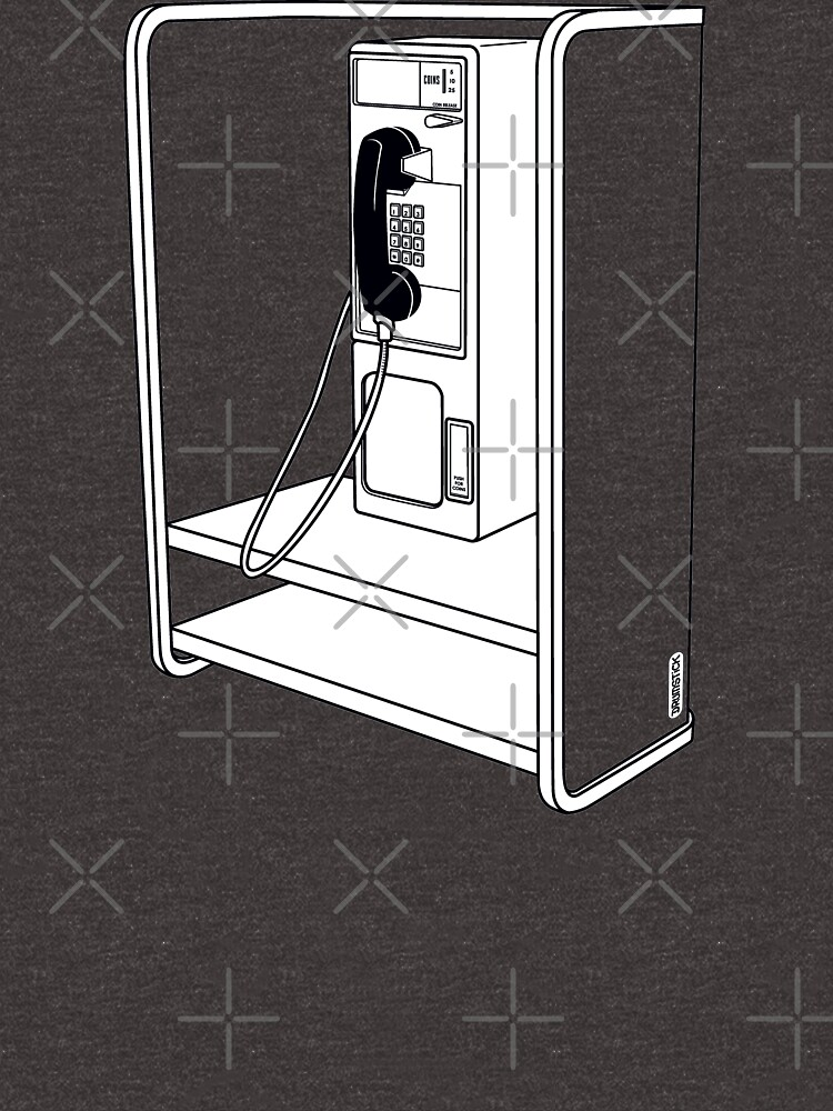 Old School Phone Booth by thedrumstick