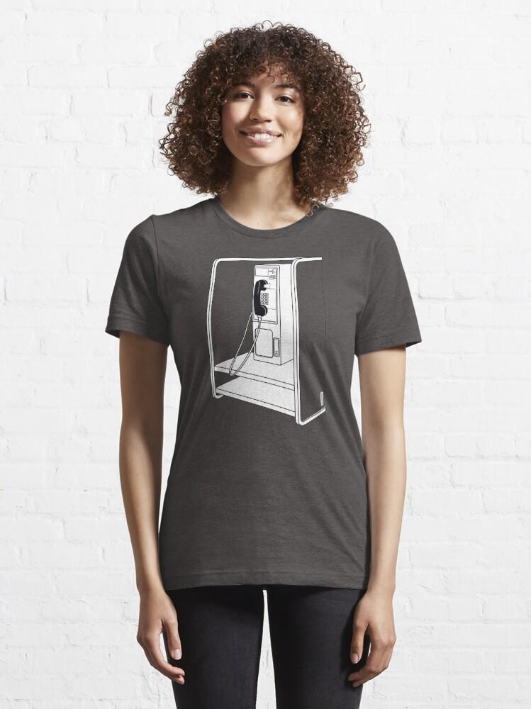 Alternative Ansicht von Alte Schultelefonzelle Essential T-Shirt
