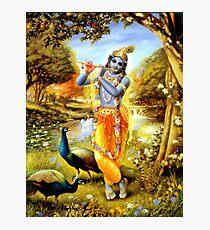 Yoga Pants Bali Krishna Photographic Print