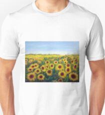 Sunflower State of Mind Unisex T-Shirt