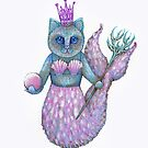 mermaid cat  by melaniedann