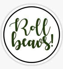 Roll Beavs! Sticker