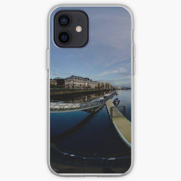 Dawn Calm at Foyle Marina, Derry, N.Ireland iPhone Soft Case
