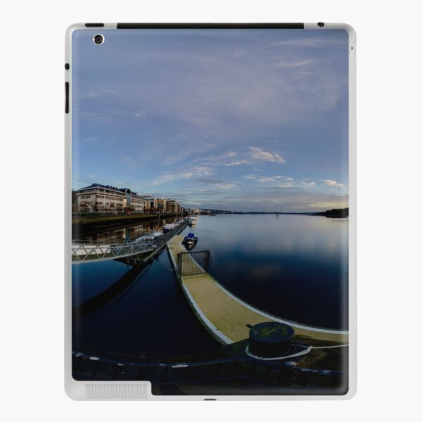 Dawn Calm at Foyle Marina, Derry, N.Ireland iPad Skin