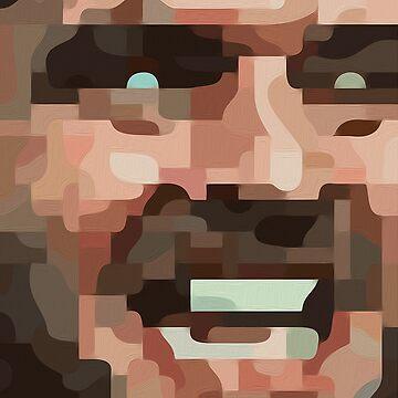 "The Shining, Jack Nicholson - ""Here's Johnny!"" by drawnye"
