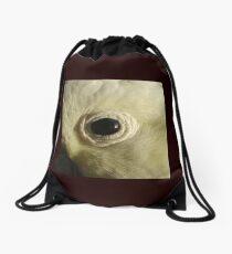Cockatoo's Eye Drawstring Bag