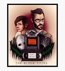 Black Tapes Podcast Photographic Print