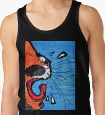 Camisetas de tirantes para hombre Tiempo para una siesta de gato