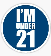 Chugger Deflector - Under 21 Sticker