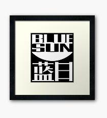 Blue Sun Corporation Logo Framed Print
