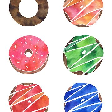 The Donut Collection by THEARTICSOUL