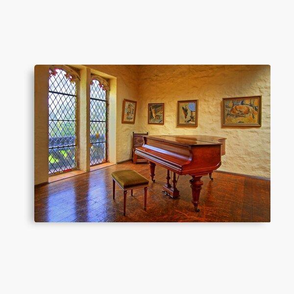 1312 The Piano Canvas Print