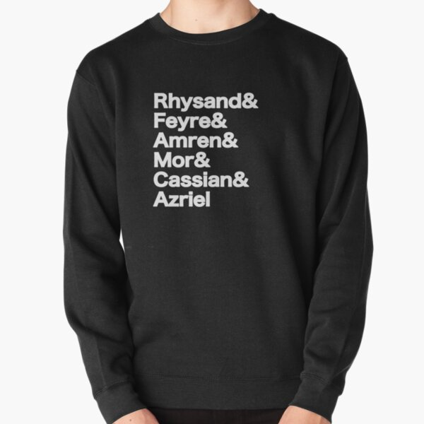 The Night Court Squad (black) Pullover Sweatshirt