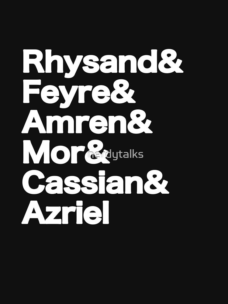 The Night Court Squad (black) by nerdytalks