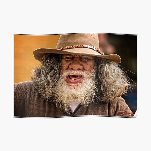 """""""Dumbledore from Bungendore"""" Poster"""