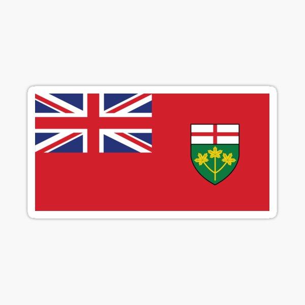 Ontario Flag Sticker