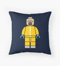 Heisenberg lego Throw Pillow