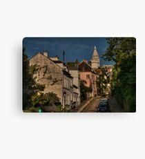 Paris - Montmartre Streetscape 002 Canvas Print