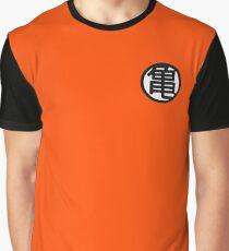 Dragon Ball Kame Symbol White Graphic T-Shirt